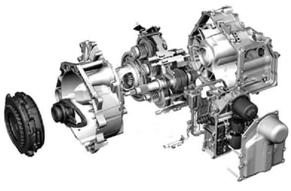 Какие различают типы роботизированных КПП ДСГ